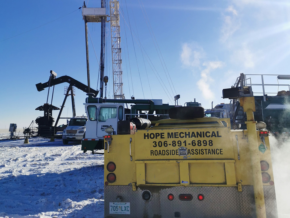 oilfield equipment repair